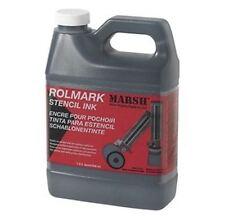 MARSH INK - ROLMARK INK - BLACK - 946ML PERMANENT BLACK INK