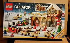 LEGO Creator Santa's Workshop Christmas Holiday Reindeer Village 10245