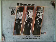 Cinema Poster: EXPENDABLES III, THE 2014 (Quad) Dolph Lundgren Wesley Snipes