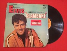 ELVIS CLAMBAKÉ BIG BOSS MAN RCA VICTOR 461 021 G+ VINYLE 33T LP