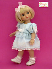 VINTAGE NYLON HANDKERCHIEF DOLL DRESS FITS ANN ESTELLE TONNER by HANKIE COUTURE