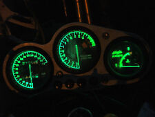 GREEN ZX9R B led dash clock conversion kit lightenUPgrade