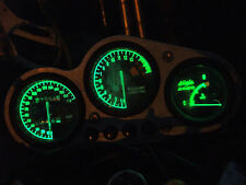 GREEN KAWASAKI ZR750s ZR7 led dash clock conversion kit lightenUPgrade