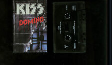Kiss Domino USA Cassette Single Tape Rare !