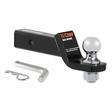"CURT Class III 2"" Loaded Ball Mount Inch Hitch Receiver Trailer RV Motorhome"