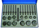 BGS Germany 27-pc Engine Valve Cast Alloy Seat Cutter Set 30-60mm Mill Milling