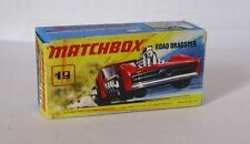 Repro Box Matchbox Superfast Nr.19 Road Dragster