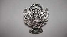 WOW HARLEY DAVIDSON *****EAGLE WITH STAR  ***  PEWTER PIN  FANTASTIC