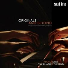Pianoduo Takahashi - Originals and Beyond-Transcriptions for Piano Duo - CD