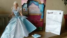 """Bambola Barbie Bella Addormentata 11/12"""" (102r) USATO giocato scatola ha usura cpics RD scri"""