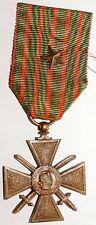 Decoration Croix de Guerre 1914-1918 avec 1 etoile