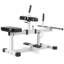 Xmark Seated Calf Raise Machine XM-7613-WHITE Fitness Accessories NEW