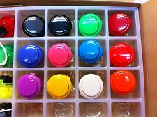 30 x Japan Sanwa Buttons + Seimitsu Joystick Video Game Arcade parts
