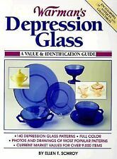 Warman's Encyclopedia of Antiques and Collectibles Depression Glass BOOK