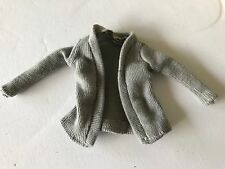 Pregnant Barbie Midge Mom Doll Happy Family  Grandma's Grey Sweater Top Clothes