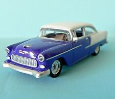 Free Shipping! HO 1:87 Scale Die Cast Car 1955 Chevy Bel Air Purple/White Schuco