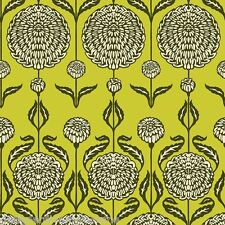 Birch Farm Chrysanthemum Blossoms - Sage by Joel Dewberry quilting fabric