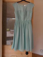 BODEN New Eva Dress - Sea Green - UK 8 L - 2015