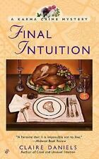 Final Intuition (Berkley Prime Crime Mysteries)-ExLibrary