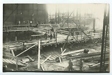 Vintage Photograph, Eastern Europe, Baustelle Makeevka (sp?) Construction 1928