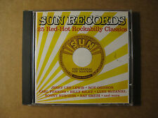 SUN RECORDS - 25 Red-Hot Sun Rockabilly Classics - Various Artists (2002 CD)