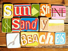 BEACH HOUSE ART PRINT - Sunshine And Sandy Beaches by Norfolk Boy 13x19 Poster