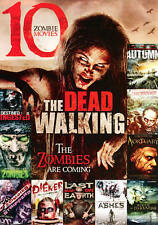 The Walking Dead: 10 Zombie Movies (DVD, 2013, 2-Disc Set) New