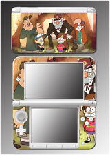 Gravity Falls Dipper Mabel Pines Oregon Stan Video Game Skin for Nintendo 3DS XL