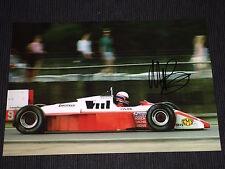 Martin Brundle f1 firmato signed autograph autografo foto 20x30 * TOP *