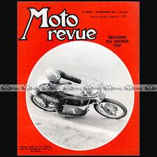 MOTO REVUE N°1658 JP BELTOISE ★ VAP 50 SPECIAL MONNERET RECORDS ★ GP MONZA 1963