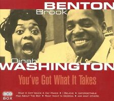Brook & Dinah Washington Benton - You've Got What It Takes [CD New]