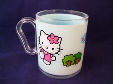 Sanrio Hello Kitty Child's Cup Mug Plastic Blue 250ml Home Presence