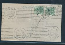 99578) Int.Ballonwettfahrten Berlin - Schmargendorf 1909, SST Foto-AK   RR!!