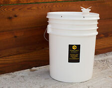 5 Gallon (60 lb) Bucket of Raw, Unpasteurized, Pure, Premium Texas Honey