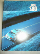 Volvo S80 range brochure c2000 German text