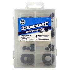 Silverline Rubber Grommet Assortment Pack - 35 Piece - 718112