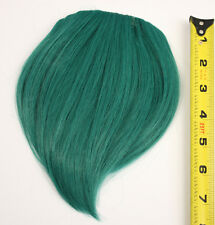 7'' Short Clip on Bangs Viridian Green Cosplay Wig Hair Extension Accessory NEW