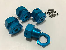 OFNA 17mm Hex / Hub Adapter Blue for Traxxas T-Maxx / Revo
