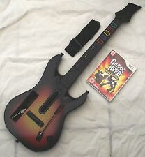 GUITAR HERO WORLD TOUR CHITARRA BUNDLE WII PAL