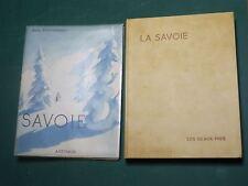 """Savoie P. GUICHONNET ARTHAUD """"Les beaux Pays"""" couv. SAMIVEL Relié PARCHEMINEX"""