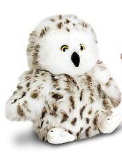 White Owl Soft Toy 18cm- Keel Toys- Cuddly soft toy