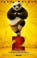 KUNG FU PANDA 2 - 27 X 40 ORIGINAL D/S MOVIE POSTER - JACK BLACK & JACKIE CHAN