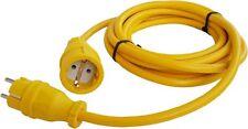 3m Verlängerungskabel Stromkabel Verlängerung Kabel N07V3V3-F 3x2,5 mm Gelb YL