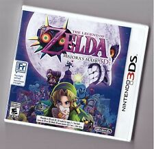 The Legend Of Zelda: Majora's Mask 3D [Nintendo 3DS, NTSC Video Game] Brand NEW