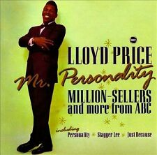 Lloyd Price - Mr. Personality: Million-Sellers - New Factory Sealed Cd