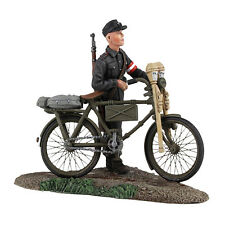 W Britain - World War II German Hitler Youth with Bicycle No. 1 25036 WWII