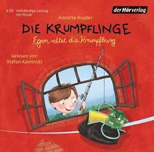 Die Krumpflinge - Egon rettet die Krumpfburg (Die Krumpflinge-Reihe, Band 5 - CD