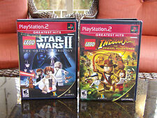 LEGO Star Wars II The Original Trilogy Sony PlayStation 2 INDIANA JONES LEGO PS2