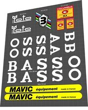 BASSO Fior di Loto Sticker / Decal Set