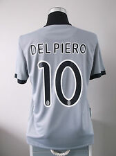 Juventus Away Football Shirt Jersey (M) 2009/10 *DEL PIERO 10*
